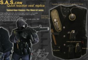 SAS CRW 80's tactical Vest by TGC